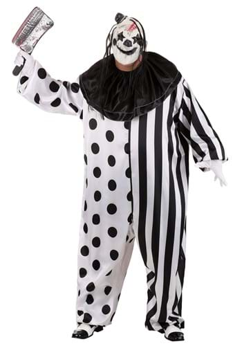 Men's Killer Clown Plus Size Costume