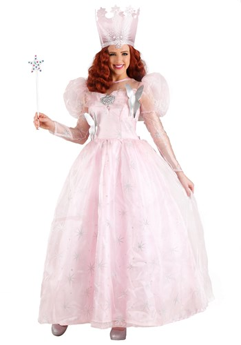 Deluxe Glinda the Good Witch Womens Plus Size Costume