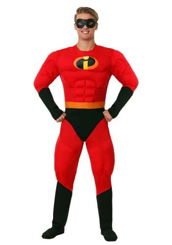 Deluxe Mr. Incredible Plus Size Muscle Costume1