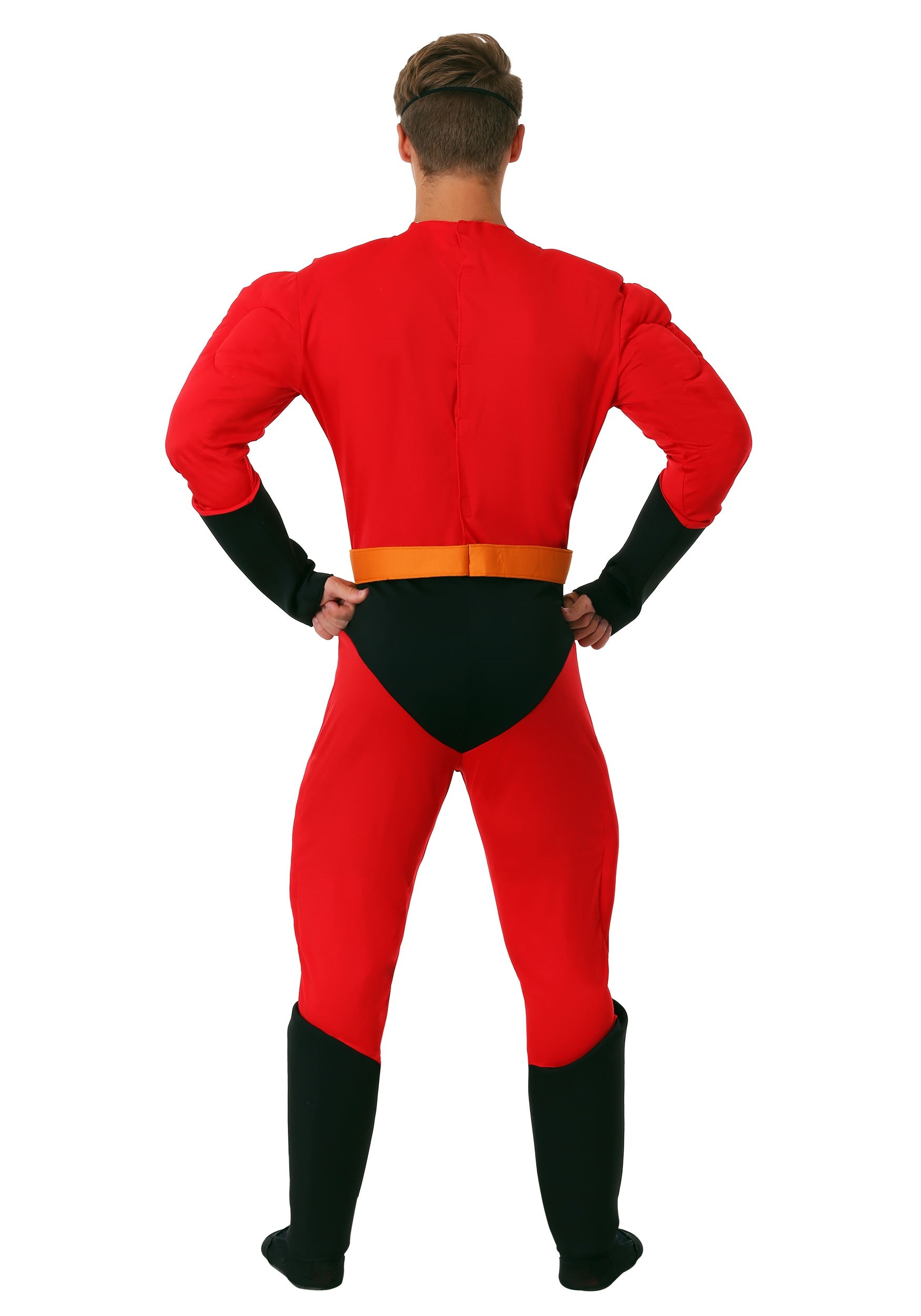 Disguise Men`s Plus Size Mr Incredible Classic Muscle Adult Costume red XXL