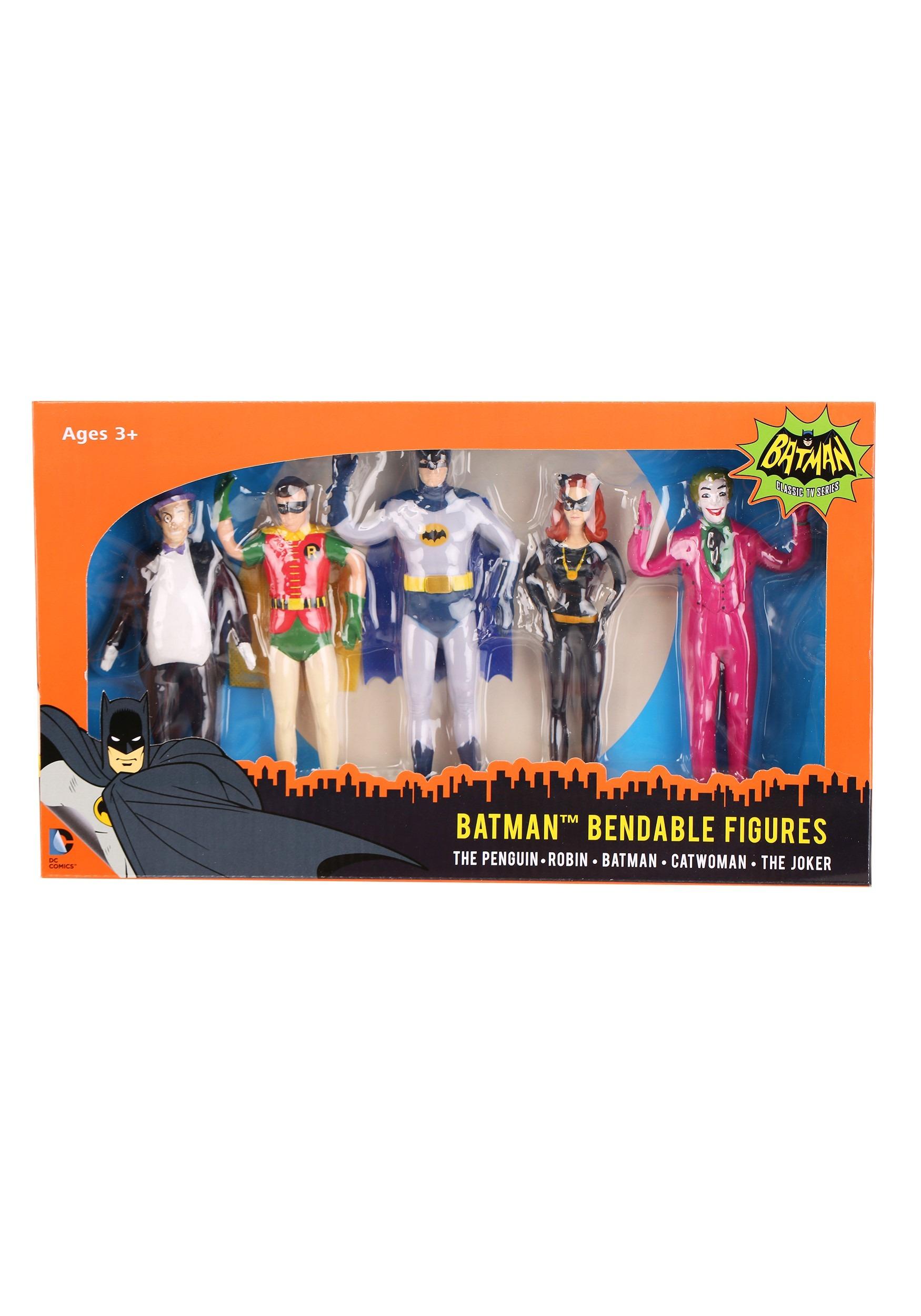Batman Bendable Figures Boxed Set NJCDC3920