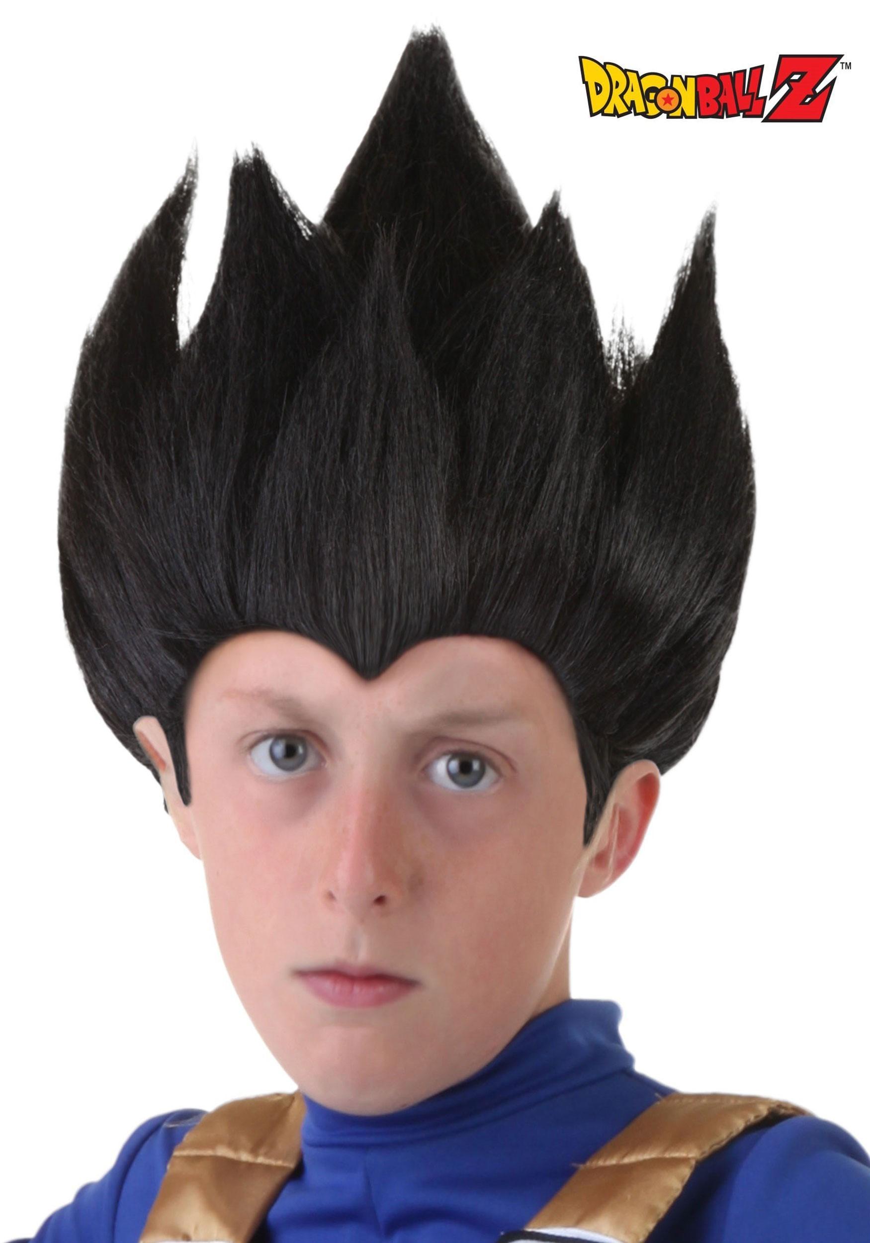 Child Vegeta Wig  sc 1 st  Fun.com & Child Vegeta Wig from Dragon Ball Z