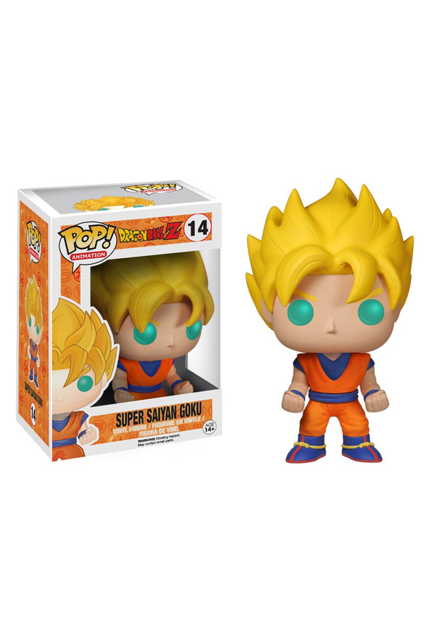 POP! Animation: Dragon Ball Z - Super Saiyan Goku FN3807