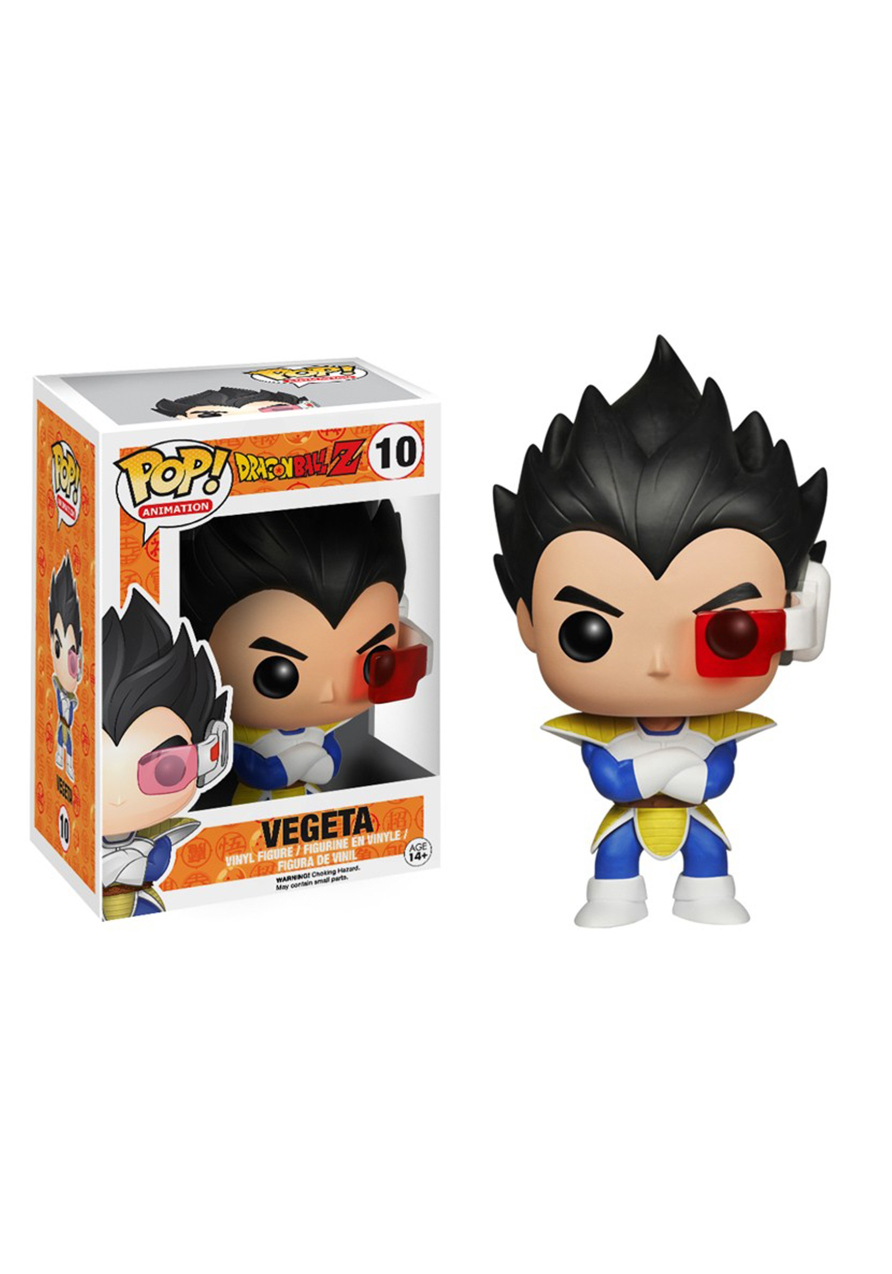 Pop Animation Dragon Ball Z Vegeta With Scouter