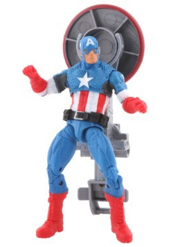 Avengers Assemble Shield Blast Captain America Action Figure