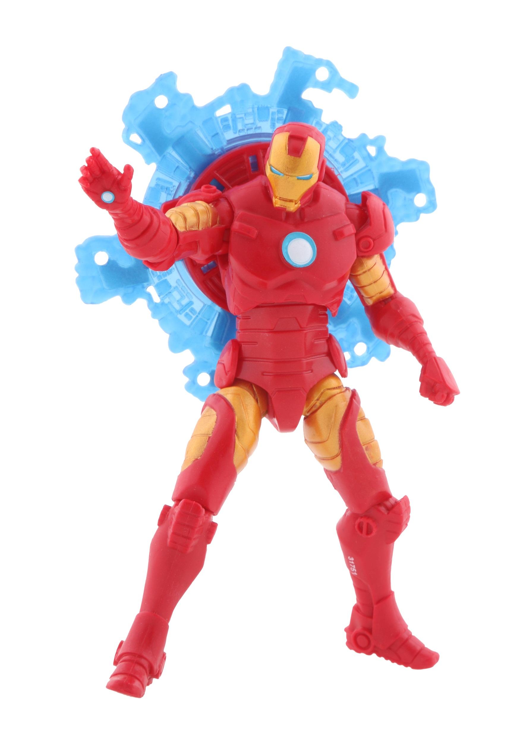 Avengers Assemble Tornado Blade Iron Man Action Figure EE7370710300