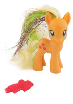 My Little Pony Applejack Crystal Figure