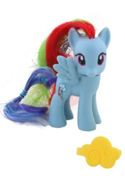 My Little Pony Rainbow Dash Crystal Figure
