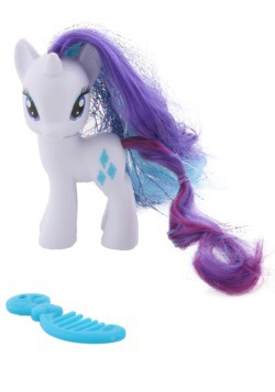 My Little Pony Rarity Crystal Figure