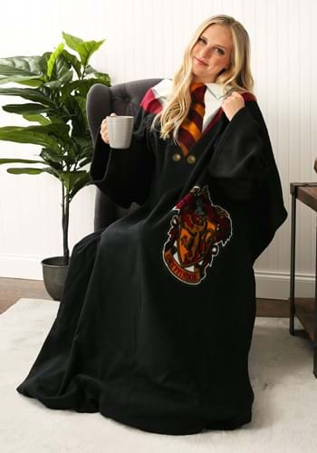 Harry Potter Adult Gryffindor Robe Comfy Throw