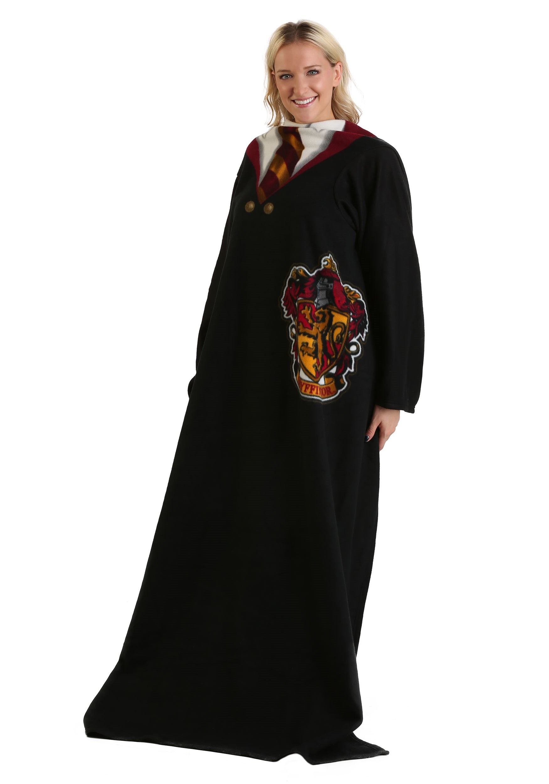 Harry Potter Comfy Throw Gryffindor Robe Blanket For Adults