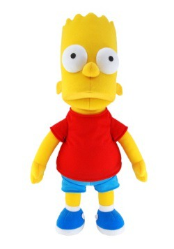 Bart Simpson Plush