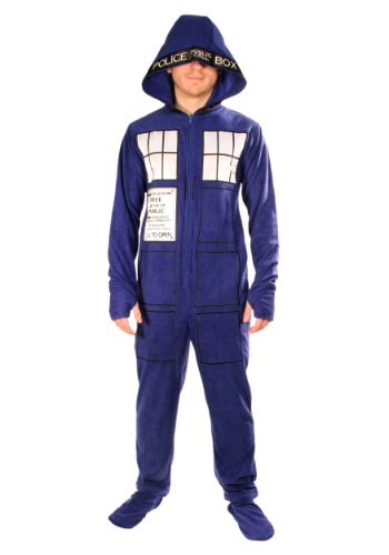Adult Doctor Who Tardis Pajamas