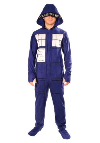 Adult Doctor Who Tardis Pajamas