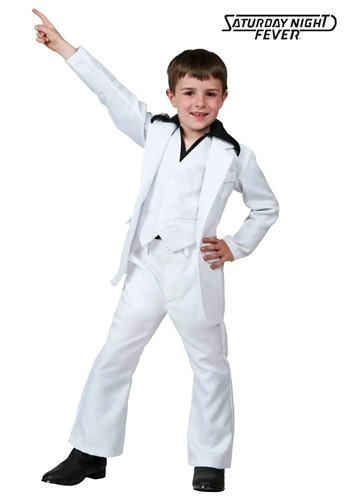Kids Deluxe Saturday Night Fever Costume UPD