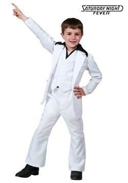 Child Deluxe Saturday Night Fever Costume new1