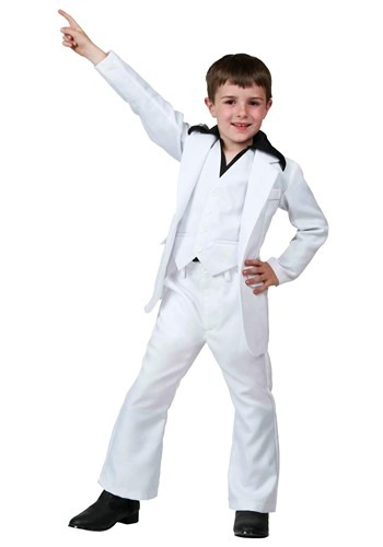 Child Deluxe Saturday Night Fever Costume