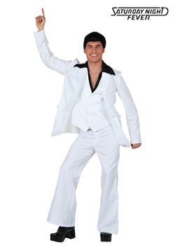 Plus Size Deluxe Saturday Night Fever Costume new1
