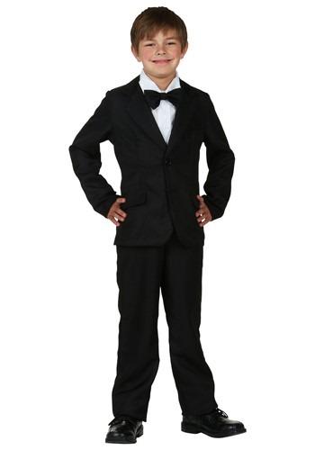 Kids Black Suitcc