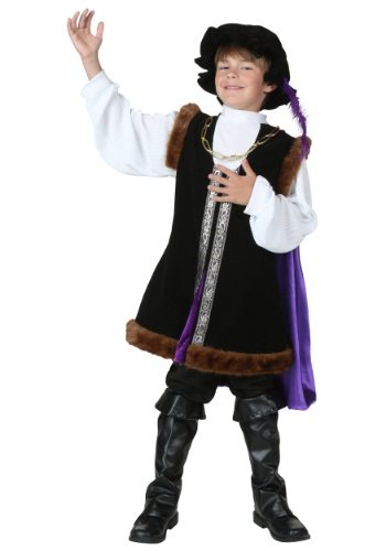 Kids Noble Man Costume