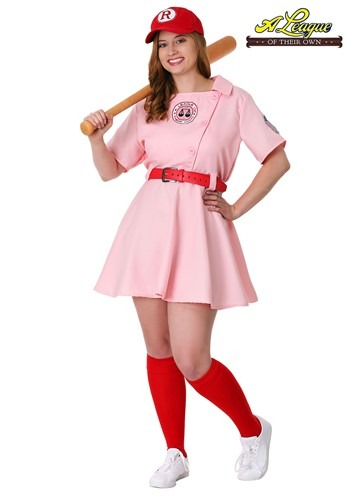 Plus Size League of Their Own Dottie Costume