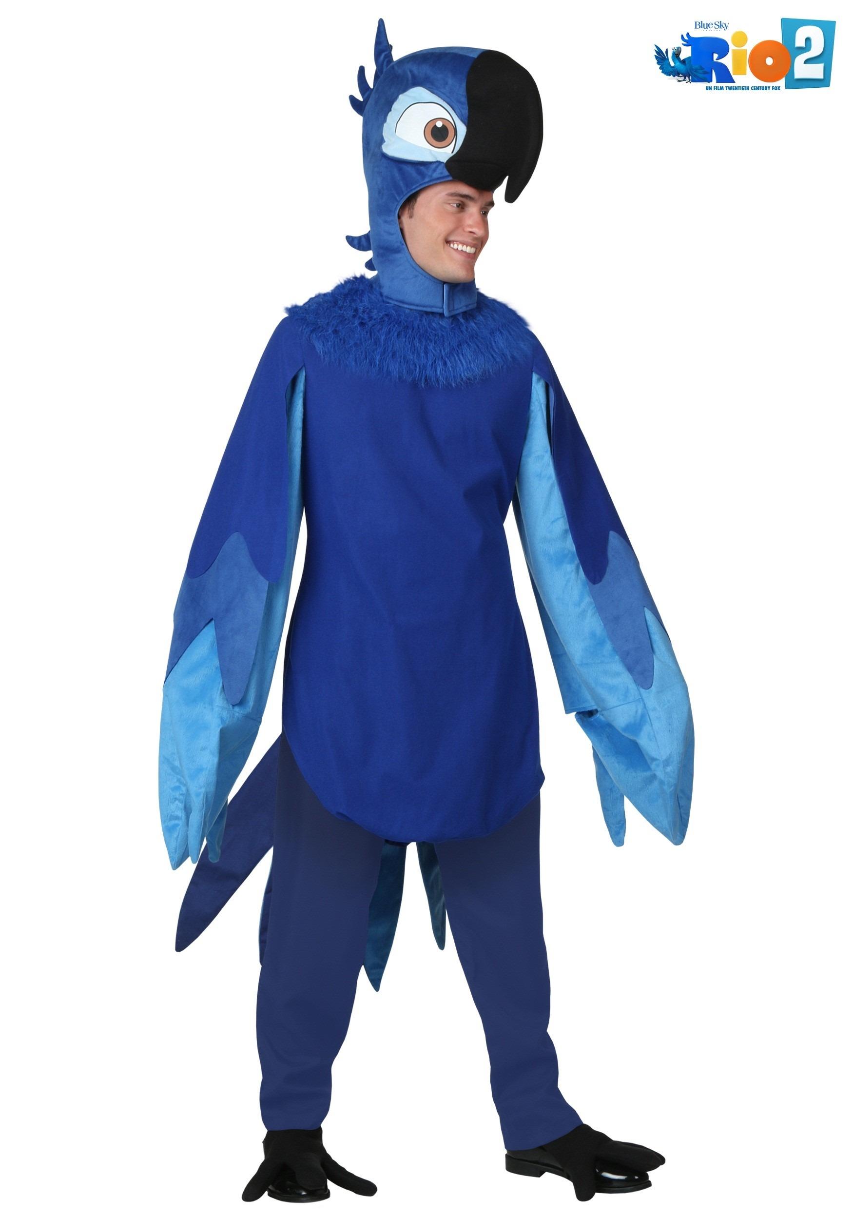 Adult Blu Costume RIO6024AD