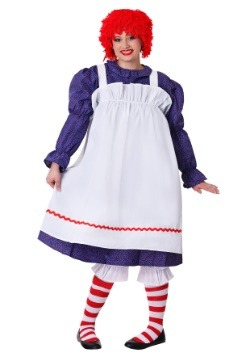 Plus Size Rag Doll Costume for Women