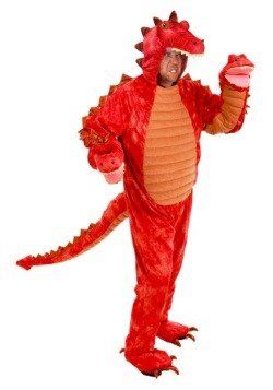 Hydra Red Dragon Adult Costume