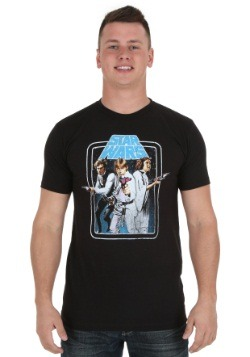 Star Wars Three Heroes Mens T-Shirt