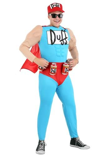 The Simpsons Duffman Costume