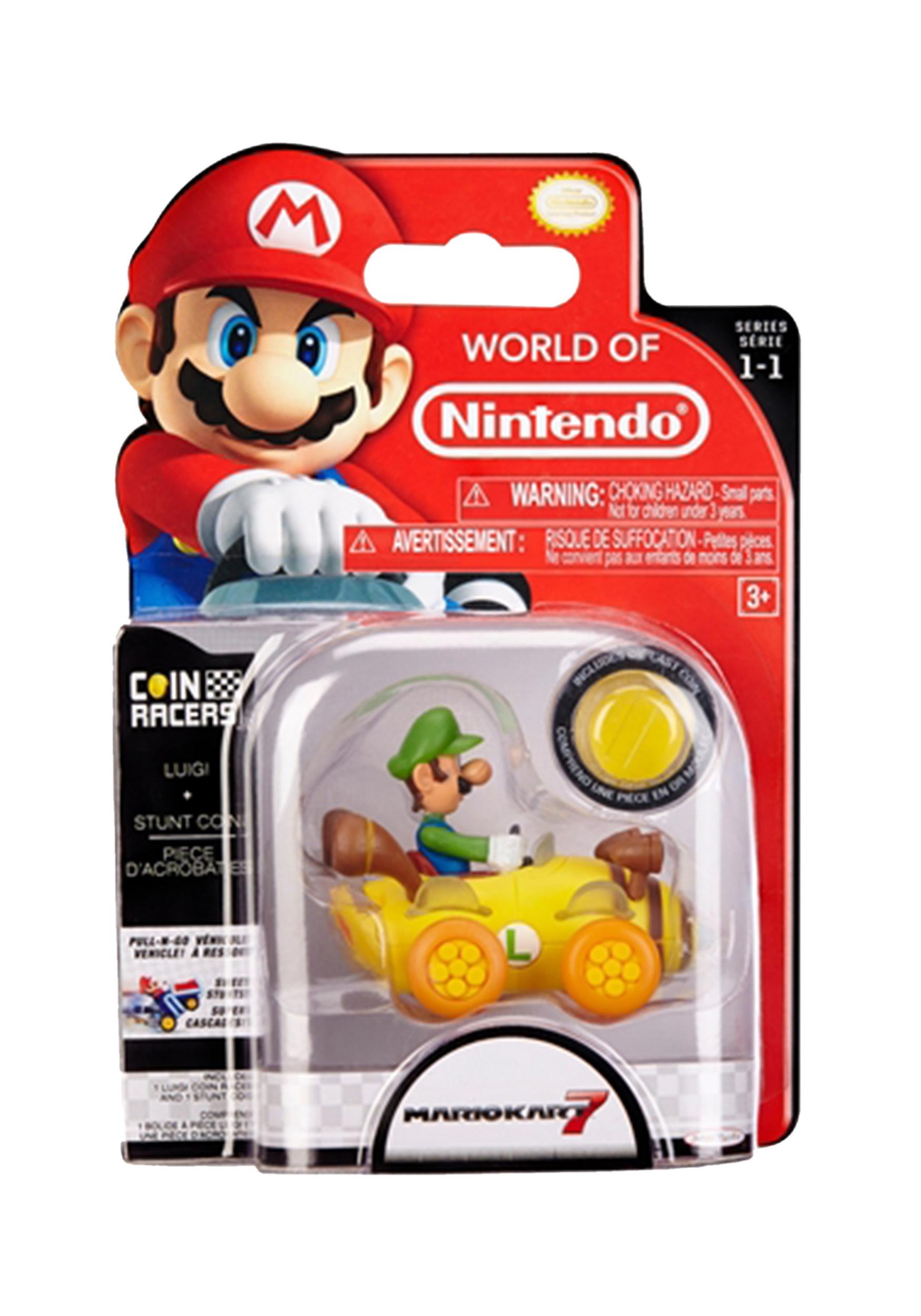 Super Mario Kart Coin Racer Luigi