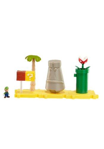 Mario Bros Layer Cake Land with Luigi Set