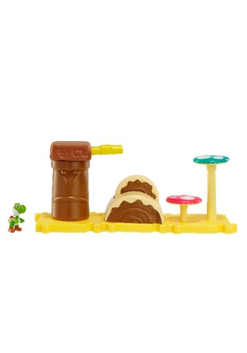 Mario Bros Layer Cake Land with Yoshi Set
