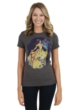 Disney Illustrated Belle Juniors T-Shirt