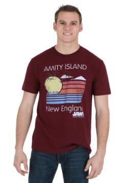 Jaws Amity Island Sunset Men's T-Shirt