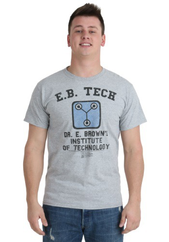 Back To The Future EB Tech T-Shirt