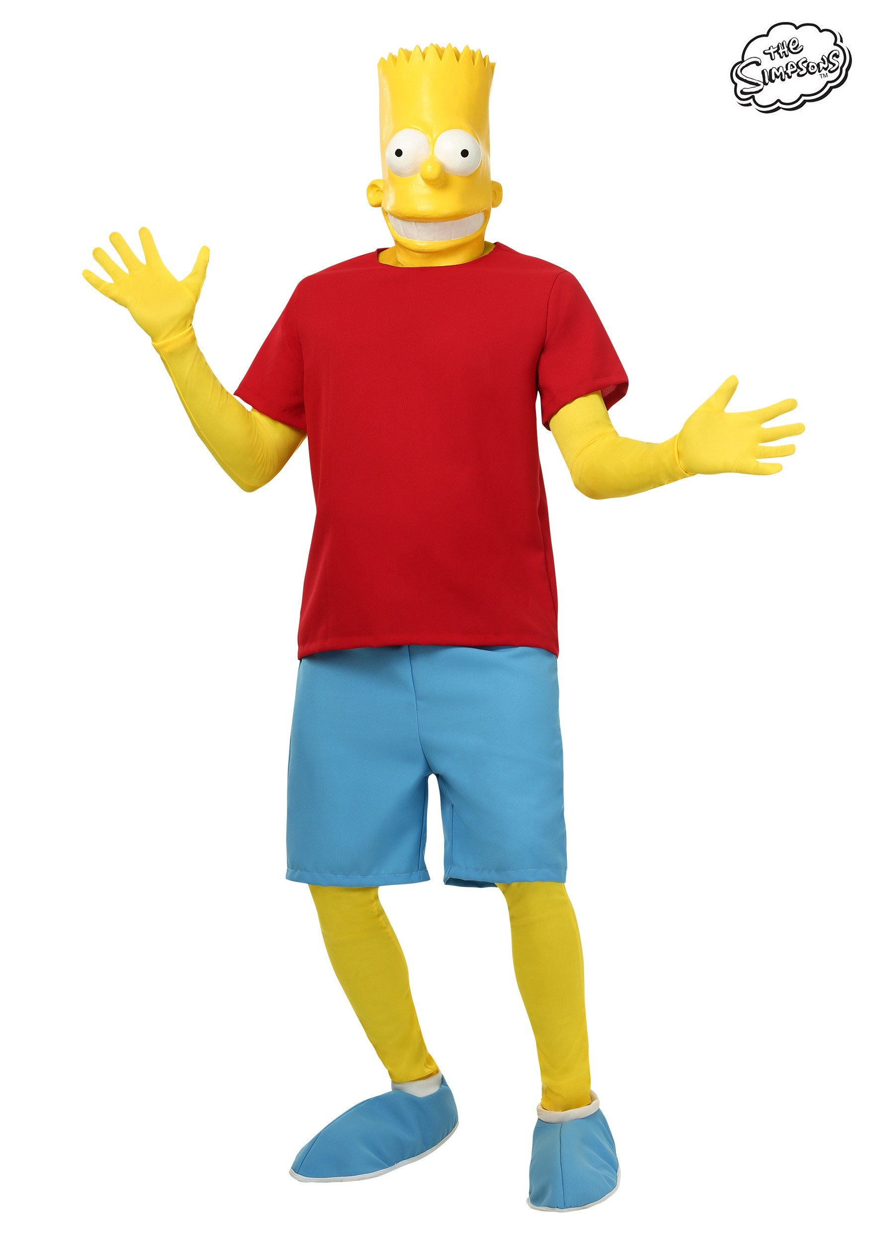 Men's Bart Simpson Costume SIM8241AD