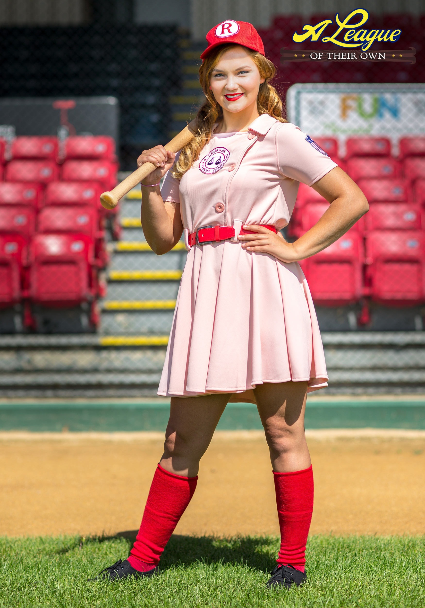 Women S Plus Size Deluxe Dottie Costume From A League Of Their Own