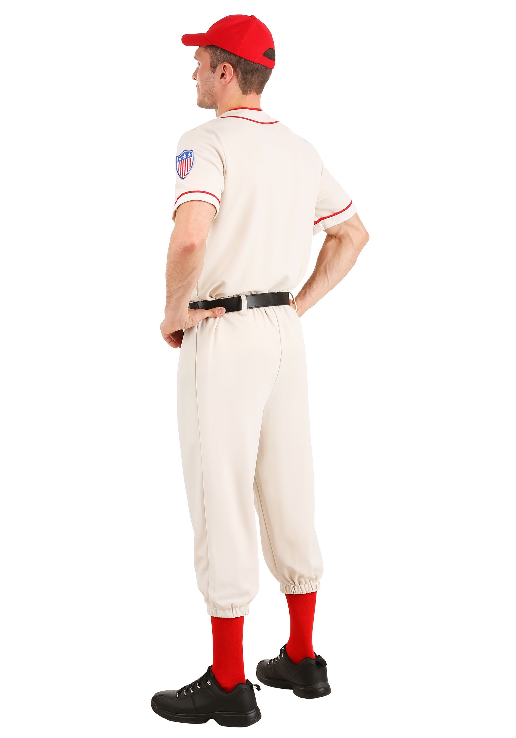 Toddler A League of Their Own Jimmy Dugan Coach Costume Kids Baseball Player Costume