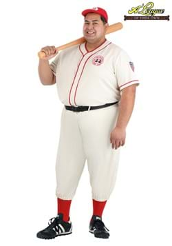 Plus Size A League of Their Own Coach Jimmy Costume Update M