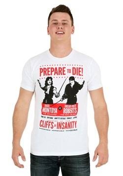 Princess Bride Prepare To Die Poster Men's T-Shirt