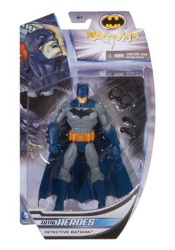Total Heroes Detective Batman Action Figure