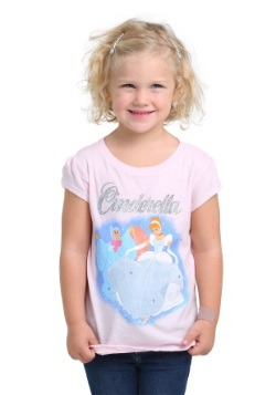 Cinderella Storybook Girls T-Shirt