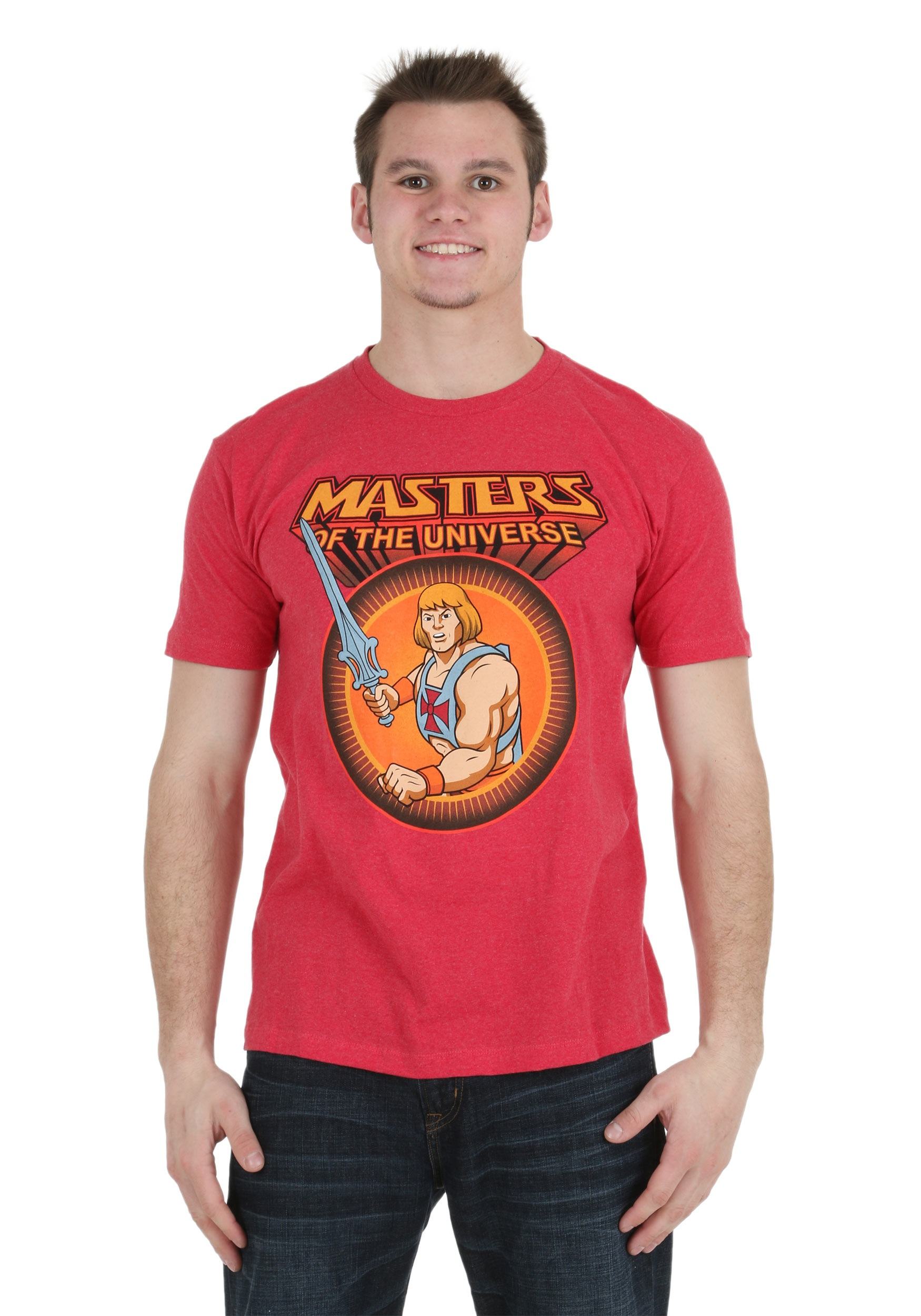 Masters Of The Universe He-Man Classic Men's T-Shirt MFDF364DDP1