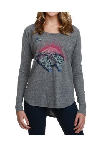 Women's Star Wars Falcon Long Sleeve Shirt