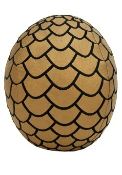 Game of Thrones Plush Gold Dragon Egg