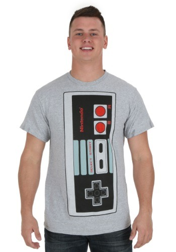 Big Controller Mens Heather Grey Tee