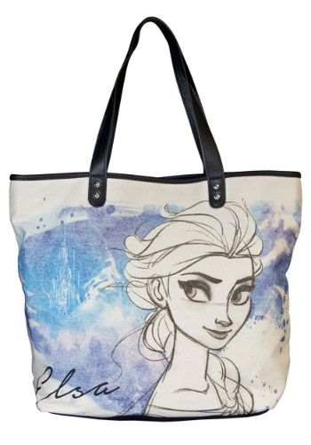 Frozen Elsa Hand Drawn Tote