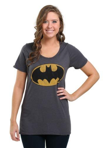 Women's Batman Vintage Bat Signal Fashion Tee