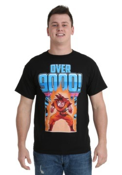 Dragon Ball Z Over 9000 Men's T-Shirt